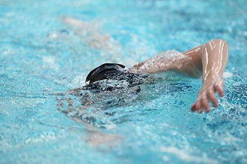 Fitness med svømning