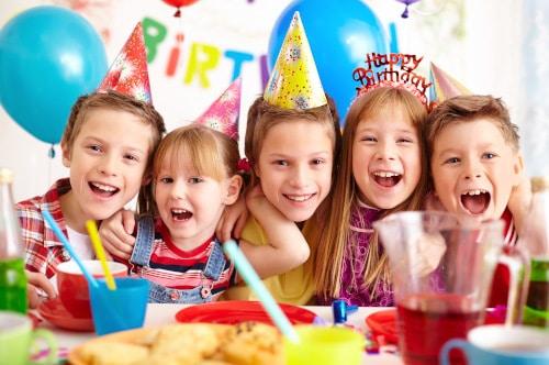 Børnefødselsdag i Strib Svømmehal