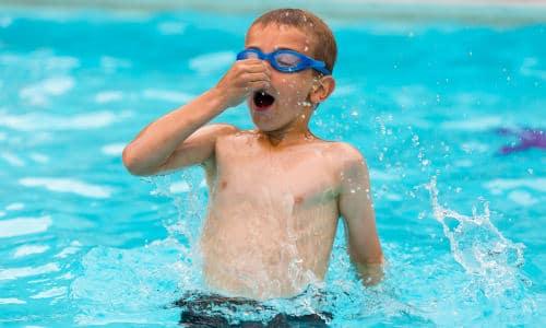 Børnebilletter til svømning
