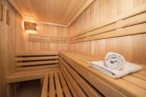 Sauna til afslapning og saunagus i Middelfart