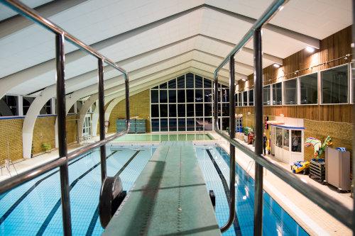 Faciliteter i Strib Svømmehal - vipper og udspring