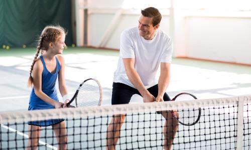 Pay & Play Tennis - Lej en tennisbane i Strib