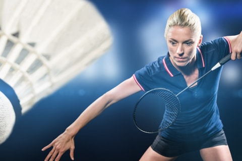 Lej en badmintonbane i Middelfart og Strib