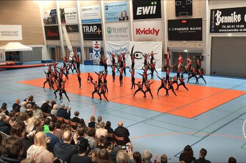 Gymnastik, spring og dans i Middelfart og Strib