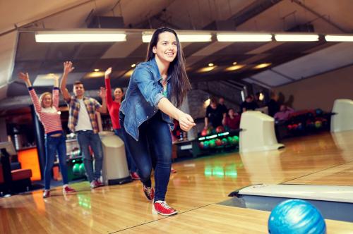 Julefrokost med bowling