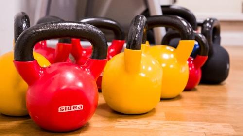 Holdtræning i Strib og Middelfart Motionscenter