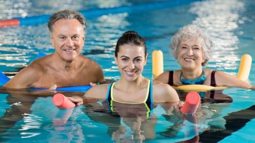 Holdtræning i Strib Motionscenter - prøv Aqua Fitness